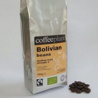 Coffee Beans in Valve Packs